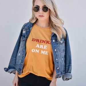 Ban.do Drinks Are On Me Tee